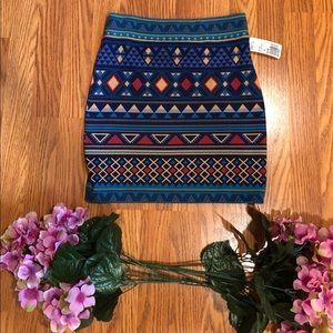 Forever21 Tribal skirt